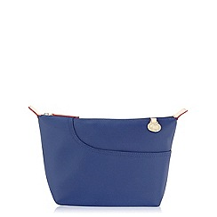 Radley - Navy Pocket Essentials medium cosmetic case