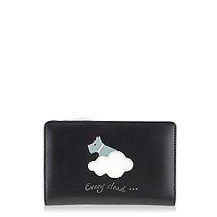 Radley - Black 'Silver Lining' medium zip purse