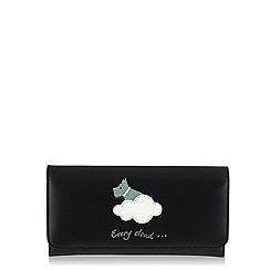 Radley - Black 'Silver Lining' large trifold matinee purse