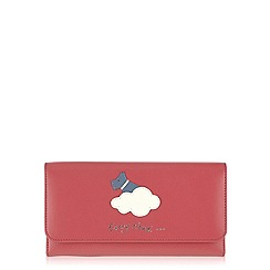 Radley - Pink 'Silver Lining' large trifold matinee purse