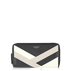 Radley - Blac Singer St large zip around matinee purse