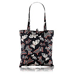 Radley - Black 'Fleet Street' foldaway tote bag