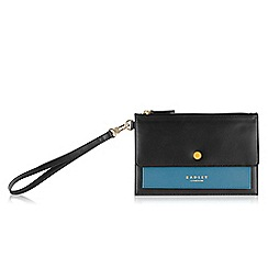 Radley - Black 'Hatton' Medium clutch bag