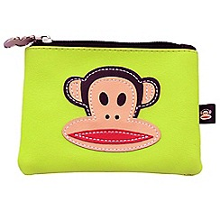 Paul Frank - Neon green Julius monkey coin purse