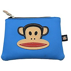 Paul Frank - Blue green Julius monkey coin purse