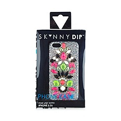 Skinnydip - Silver 'bling' jewel encrusted iPhone 5/5s case