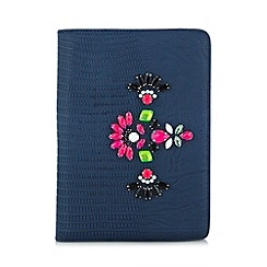 Skinnydip - Navy snake embellished iPad Mini case