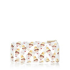 Skinnydip - White ice cream printed pencil case