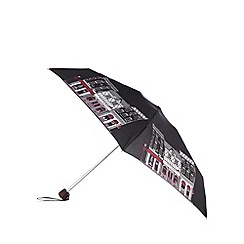 Bailey & Quinn - Black shop print umbrella