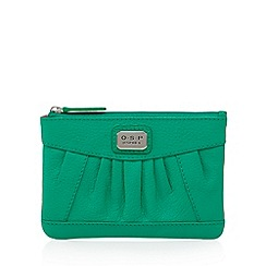 Osprey London - Green leather pleated small purse