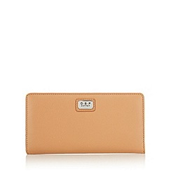 Osprey London - Tan leather large slim purse