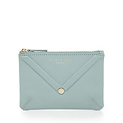 Bailey & Quinn - Light green envelope leather coin purse