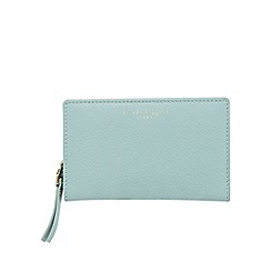 Bailey & Quinn - Light green medium zip around leather purse