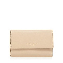 Bailey & Quinn - Beige leather colour block purse
