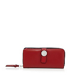 Fiorelli - Red 'Cyan' zip around large purse
