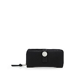 Fiorelli - Black 'Cyan' zip around large purse