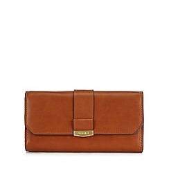 Fiorelli - Tan 'Minnie' large fold over purse