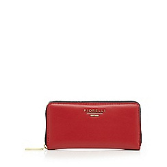 Fiorelli - Red 'Perrie' zip around large purse