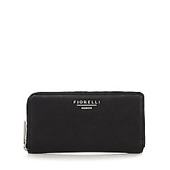 Fiorelli - Black 'Perrie' large zip around purse