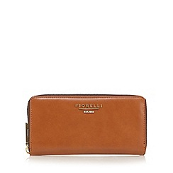 Fiorelli - Tan 'Perrie' large zip around purse