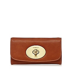 Fiorelli - Tan 'Denver' large flap over purse