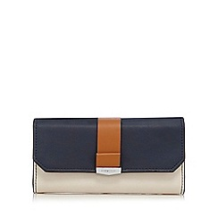 Fiorelli - Navy and tan 'Minnie' large purse
