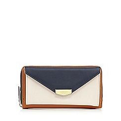 Fiorelli - Navy and tan 'Warren' large purse