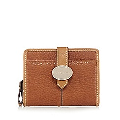 J by Jasper Conran - Tan tab over small purse