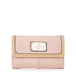 J by Jasper Conran - Light pink grained leatherette purse