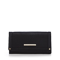 J by Jasper Conran - Black grained purse
