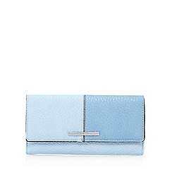 J by Jasper Conran - Blue colour block large purse