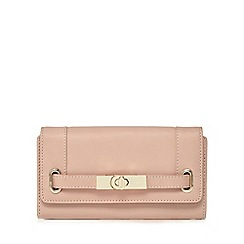 J by Jasper Conran - Light pink metal belt purse