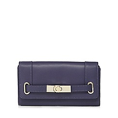 J by Jasper Conran - Blue metal belt purse