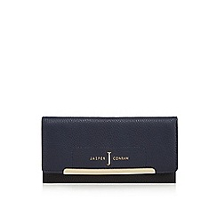 J by Jasper Conran - Navy large flap-over purse