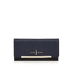 J by Jasper Conran - Navy large flap-over purse
