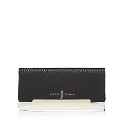 J by Jasper Conran - Black large flap-over purse