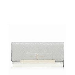 J by Jasper Conran - Grey large flap-over purse