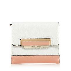 J by Jasper Conran - Light pink grained small purse