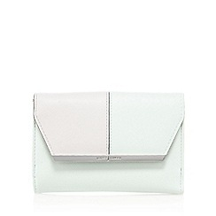 J by Jasper Conran - Green and pink block colour purse