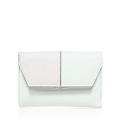 J by Jasper Conran - Green and pink block colour purse