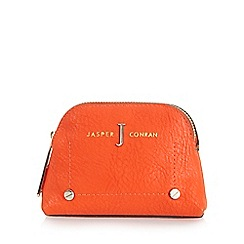 J by Jasper Conran - Orange leatherette coin purse