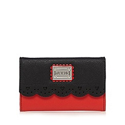 Floozie by Frost French - Red scalloped heart cut-out purse