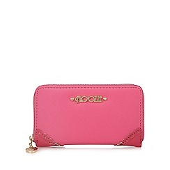Floozie by Frost French - Dark pink zip around purse