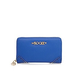 Floozie by Frost French - Blue zip around purse