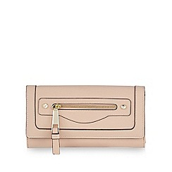 Star by Julien Macdonald - Pale pink zip pocket large purse