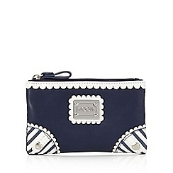 Floozie by Frost French - Navy nautical small purse