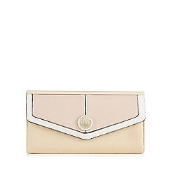 Star by Julien Macdonald - Light pink colourblock large flapover purse