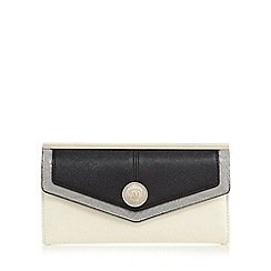 Star by Julien Macdonald - Black colourblock large flapover purse