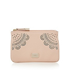 Star by Julien Macdonald - Light pink floral cut-out coin purse