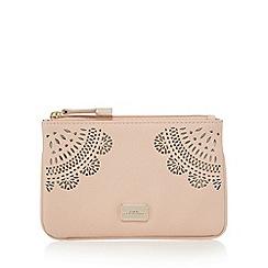 Star by Julien Macdonald - Light pink floral cut-out coin purse